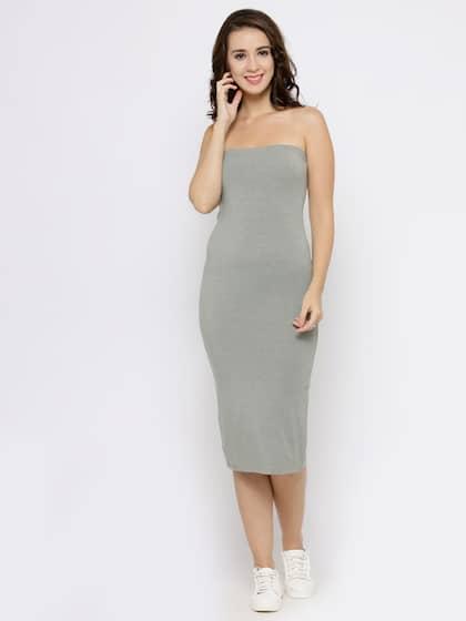77da1833de Tube Dresses - Buy Tube Dresses online in India