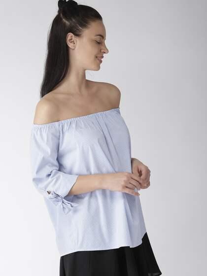 73e98012105 Off Shoulder Tops - Buy Off Shoulder Tops Online in India | Myntra