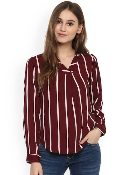 Long Sleeve Tops - Buy Long Sleeve Tops online in India adf09383f3
