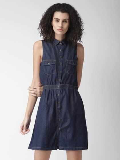 552f4af75052 Denim Dresses - Buy Denim Dresses Online in India
