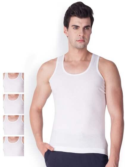 0835d41e1 Vests For Men - Buy Mens Innerwear Vests Online - Myntra