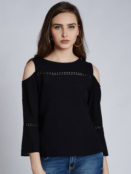 2c458715fab Cold Shoulder Tops - Buy Cold Shoulder Tops for Women Online - Myntra