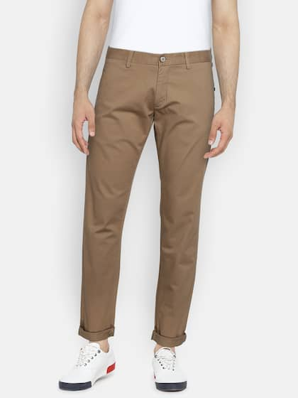 e44ee40b60ce3 Men Casual Trousers - Buy Casual Pants for Men in India - Myntra