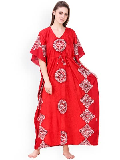 Kaftan Nightdresses - Buy Kaftan Nightdresses online in India 0298fedaf