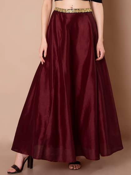 58400fe544 Ethnic Long Skirts - Buy Ethnic Long Skirts Online   Myntra