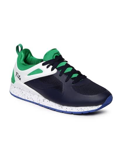 FILA Men Navy & Green OVERPASS 2.0 FUSION Sneakers