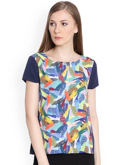 ca31224b92 Tops - Buy Designer Tops for Girls & Women Online | Myntra