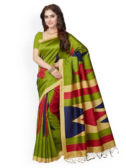 77a50706e7b Bhagalpuri Saree - Shop Bhagalpuri Sarees Online - Myntra