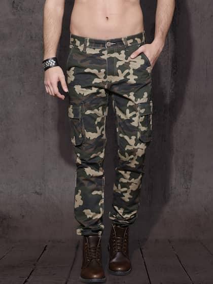 94a614c37941c Cargo Pants For Men - Buy Latest Trendy Cargo Pants Online