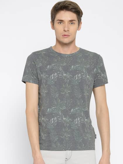 b5a7a8c2f2eb0e Jack   Jones Grey Melange By Lifestyle By Lifestyle Tshirts - Buy ...