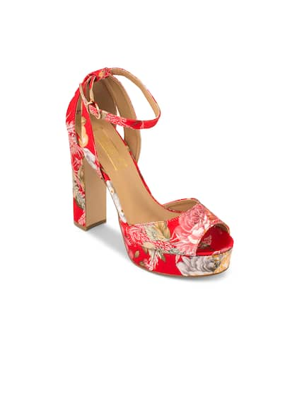 6c5b9d51ae462 Heels Online - Buy High Heels, Pencil Heels Sandals Online | Myntra