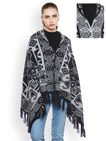 67ef5e1e292dd3 Poncho - Exclusive Poncho Online Store in India at Myntra