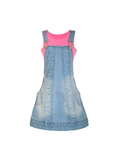 0b14291e5 Girls Dresses - Buy Frocks & Gowns for Girls Online | Myntra