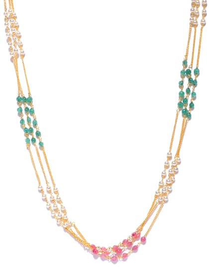 5ee75bb77 Sukkhi. Beaded Multistranded Necklace