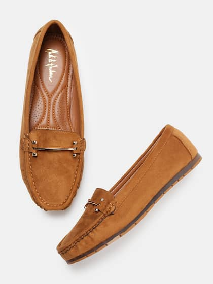e7b45f162a19 Loafers for Women - Buy Ladies Loafers Online in India | Myntra