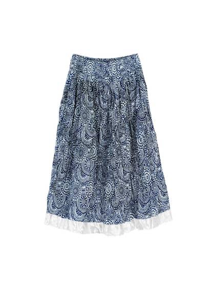 6b267fead4f2ea Skirts for Women - Buy Short, Mini & Long Skirts Online - Myntra