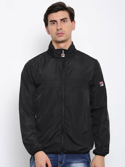 b8fc00433955 FILA. Men Solid Sporty Jacket