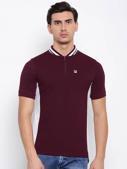 8f7aacf63 Fila T-shirt - Buy Fila T-shirts for Men & Women Online in India