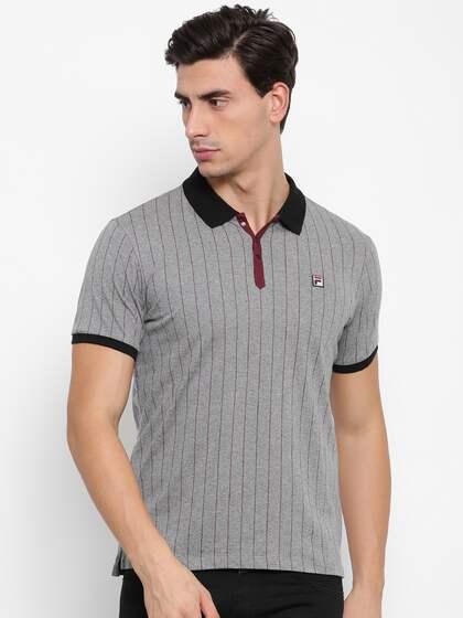 74bcb2aa Fila T-shirt - Buy Fila T-shirts for Men & Women Online in India
