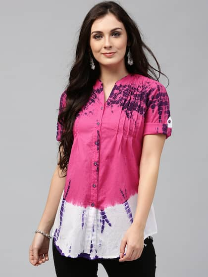 c60e8d7f45a9 Women Shirts - Buy Shirts for Women Online in India