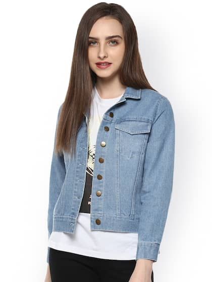 san francisco 5c9d7 0a2a7 Denim Jacket - Buy Denim Jacket Online - Myntra