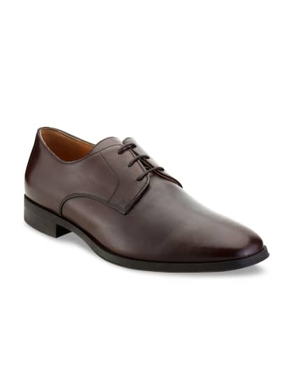 156a8e7adb71 Brown Leather Shoes - Buy Brown Leather Shoes online in India