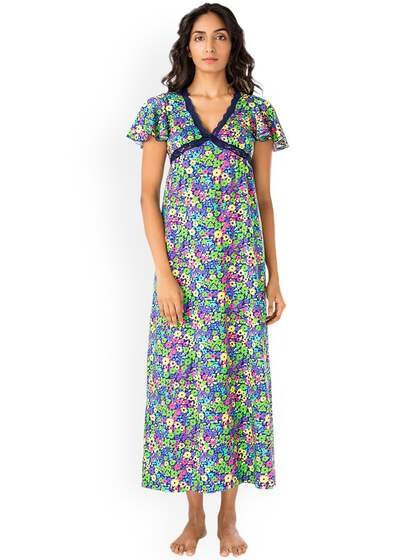 98eac2ab9d451 Cotton Nightdresses - Buy Cotton Nightdresses Online in India | Myntra