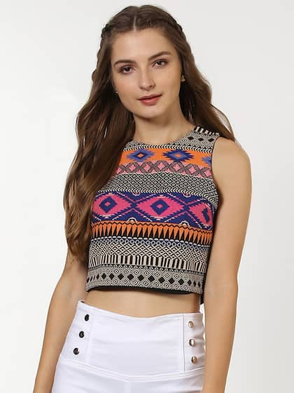 c1c4ca1760 Crop Tops - Buy Midriff Crop Tops Online for Women in India