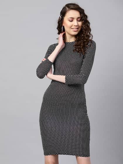1bbd3b8f9a4aa8 Bodycon Dress - Buy Stylish Bodycon Dresses Online | Myntra