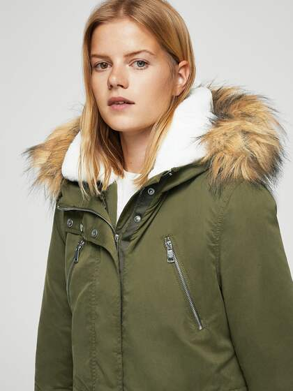 b9184d860 MANGO Jackets - Buy Jacket from MANGO Online in India   Myntra