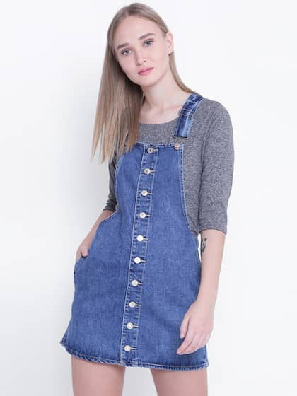 compare price sneakers exquisite design Pinafore Dress - Buy Pinafore Dresses Online in India   Myntra