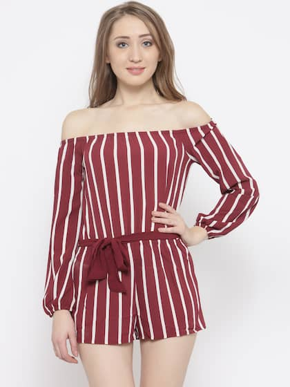 d82c1c7958 Playsuits For Women - Buy Playsuits For Women online in India