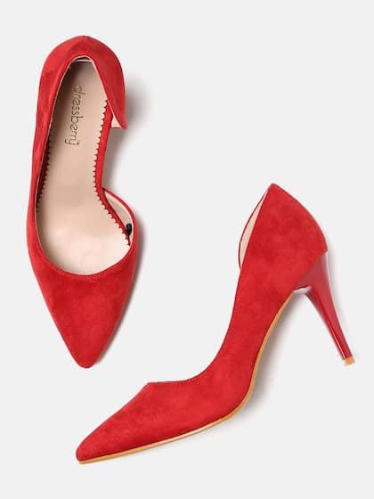 f8afaebe7 Red Heels - Buy Red Heels Online in India