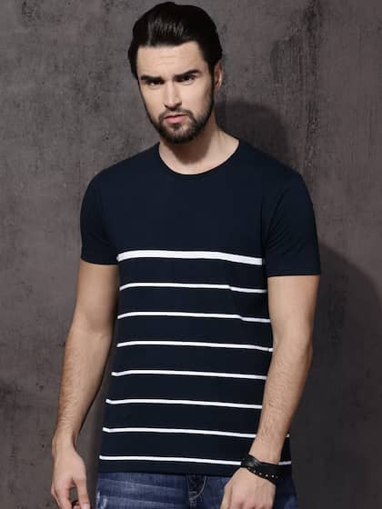 Roadster. Striped Round Neck T-shirt 8e788375bad7