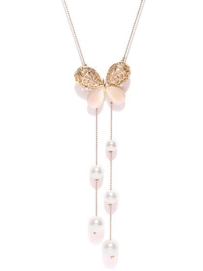 Necklace Buy Necklace For Men Women Girls Online Myntra