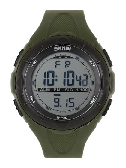 0ac7da22205d2 Skmei Men Olive Green Digital Watch1025GRN