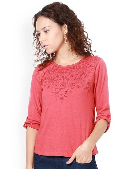 3a38b54dad8cc7 People Tops - Buy People Tops Online in India