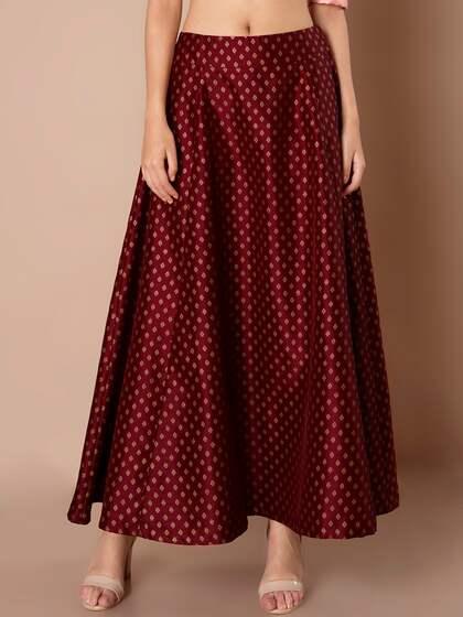 c9ceefa9d Ethnic Long Skirts - Buy Ethnic Long Skirts Online | Myntra