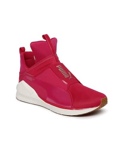 4da42111d9b Puma Women Pink Fierce VR Mid-Top Training Shoes