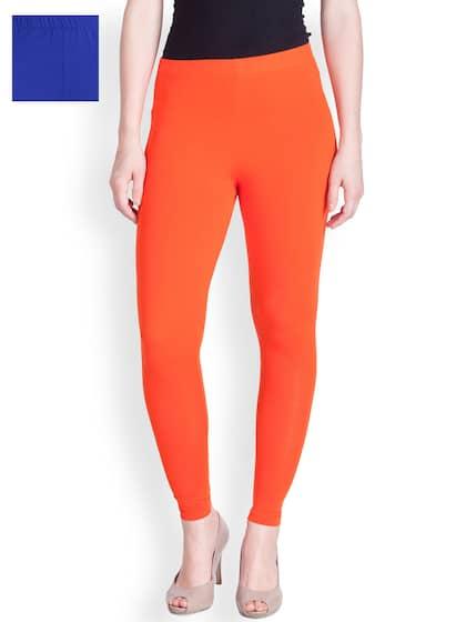 91a505d12a580 Orange Leggings - Buy Orange Leggings online in India