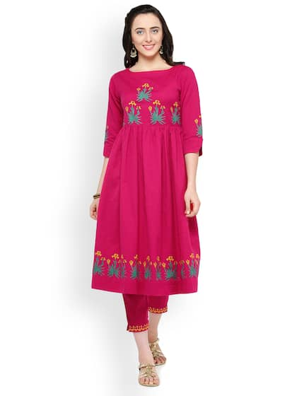 918a3833ca35 Bitterlime Kurta Sets - Buy Bitterlime Kurta Sets online in India