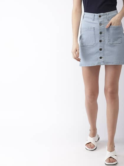 cute fast delivery performance sportswear Denim Skirts - Buy Denim Skirts for Women Online | Myntra