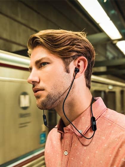 JBL T110BT Unisex Black Wireless In-Ear Headphones