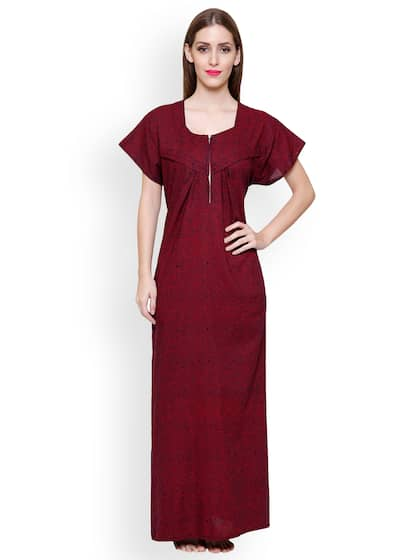 a2c13348bb9 Cotton Nightdresses - Buy Cotton Nightdresses Online in India