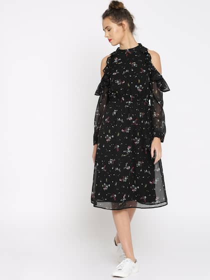 c9286c7dd52bc3 Black Dress - Buy Black Dresses For Women in India