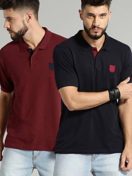 0568aba5d1fc Polo T-Shirts for Men - Buy Polo T-Shirts for Men on Myntra