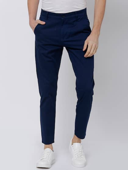 1e6b4f1f Men Casual Trousers - Buy Casual Pants for Men in India - Myntra