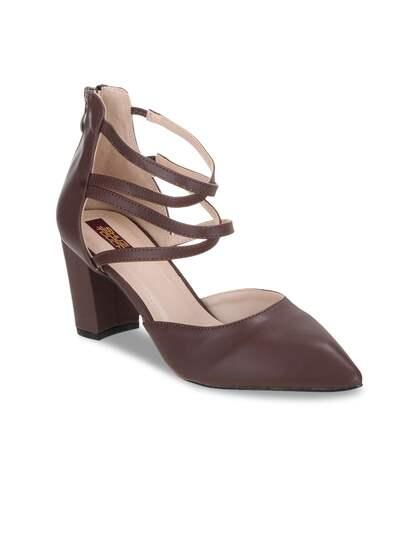 12b0ffdb23 Coffee Brown Heels - Buy Coffee Brown Heels online in India