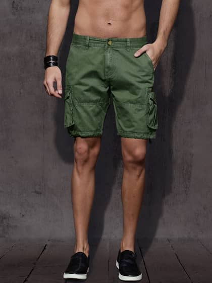 a08f7e428c Cargo Shorts - Buy Cargo Shorts for Men & Women online in India - Myntra
