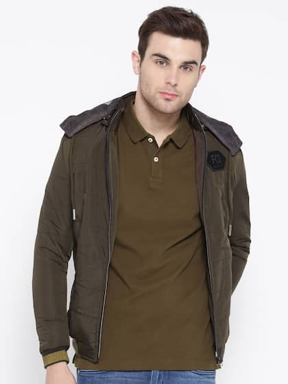 6035abbde9e Jackets for Men - Shop for Mens Jacket Online in India | Myntra